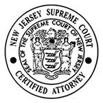 NJ Supreme Court Certified Attorney Badge